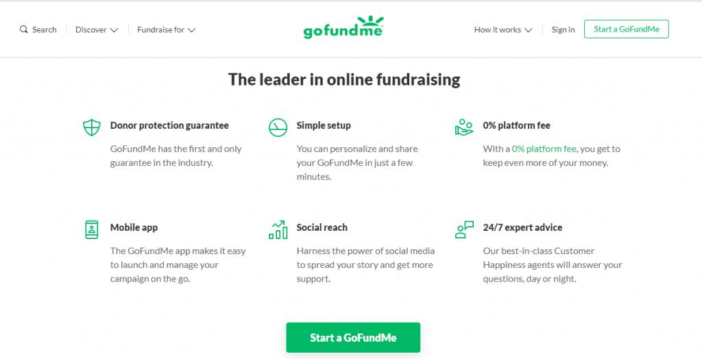 GoFundMe-Free Fundraising & Crowdfunding Online