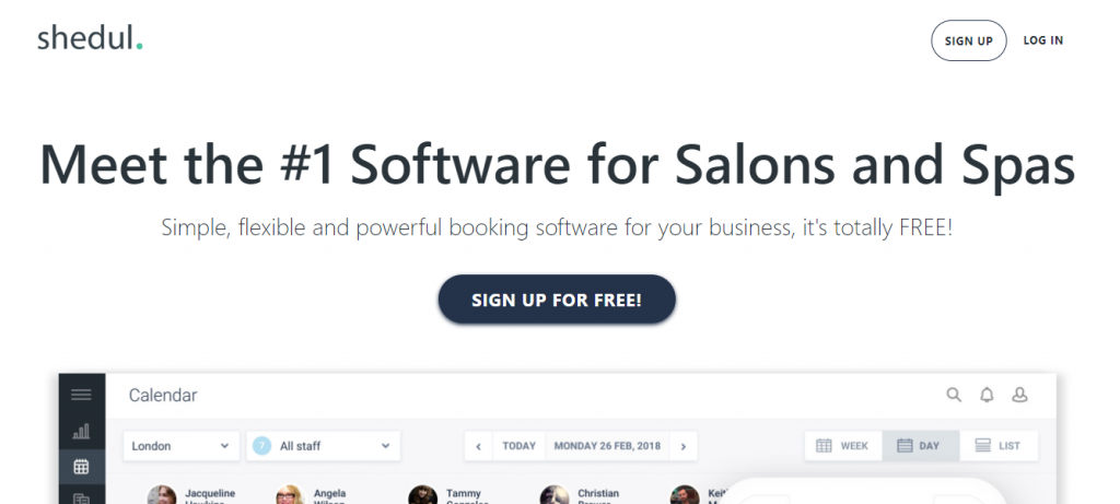 shedul-Appointment Scheduling Software for Salons