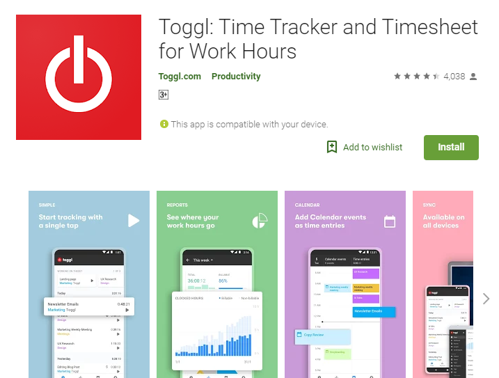 Toggl - Free Time Tracking Software and Timesheet for Work Hours