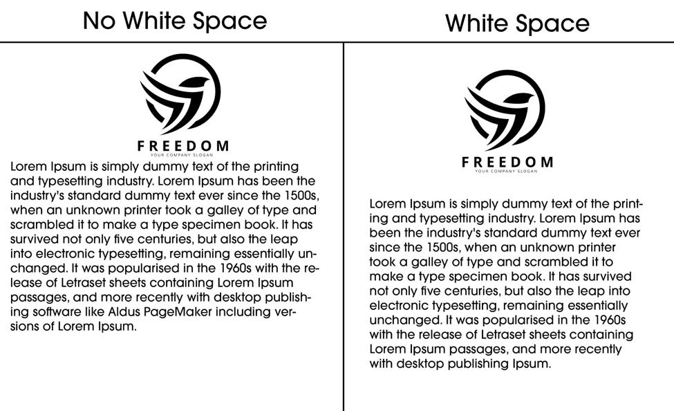 Incorporate white space