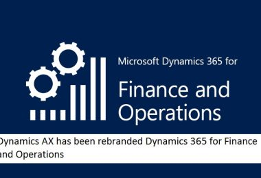 An Overview to Dynamics 365 for Finance and Operation