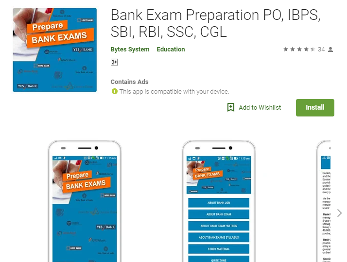 Bank Exam Preparation PO, IBPS, SBI, RBI, SSC, CGL
