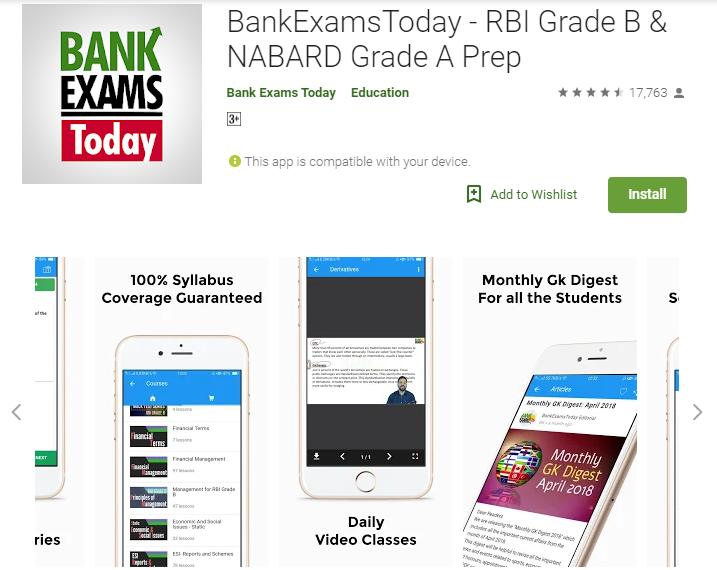 BankExamsToday - RBI Grade B & NABARD Grade A Prep