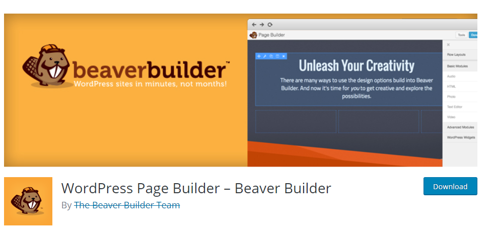 Beaver Builder-Drag & Drop Page Builders for WordPress