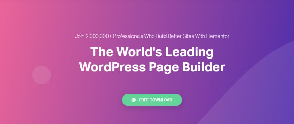 Elementor-Drag & Drop Page Builders for WordPress