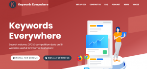 Keywords Everywhere-Free SEO Tools for Keywords Research
