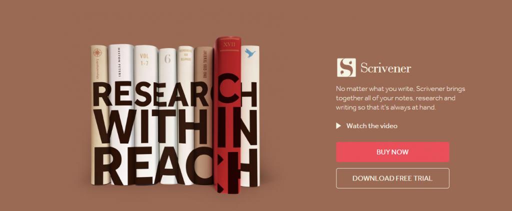 Scrivener-Literature & Latte