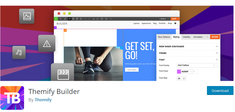Themify Builder-Drag & Drop Page Builders for WordPress