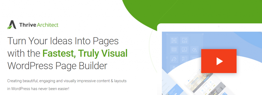 Thrive Architect-Drag & Drop Page Builders for WordPress