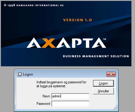 IBM Axapta: 1998
