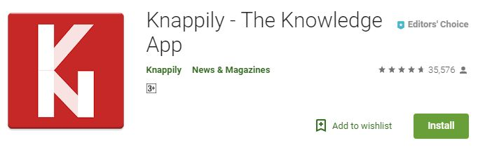 Knappily – The Knowledge App-Best Current Affairs apps