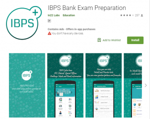 Best Apps for bank exam preparations-IBPS Bank Exam Preparation