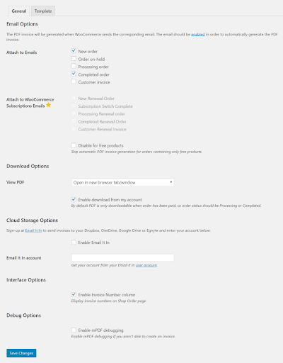 woocommerce wordpress plugin and extensions free download-WooCommerce PDF Invoices