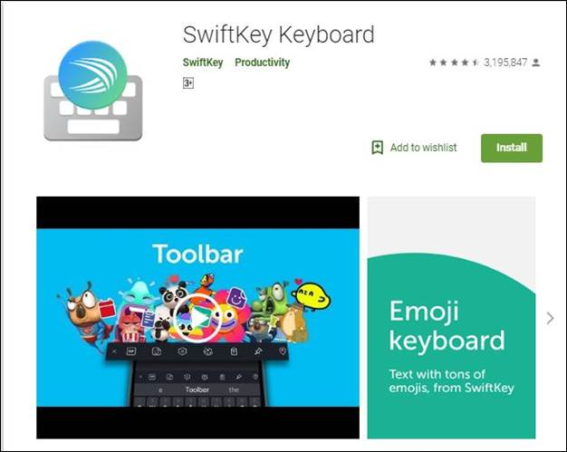 Swift Key-10 Must have Android Apps