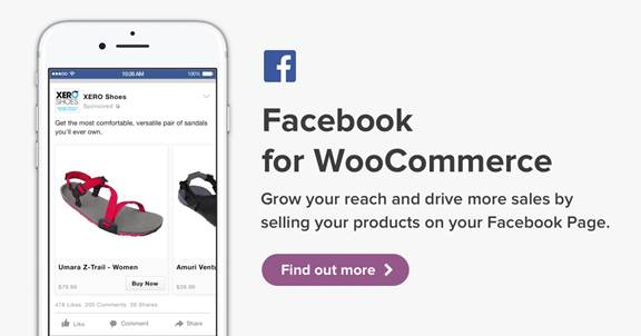 woocommerce wordpress plugin and extensions free download-Facebook for WooCommerce