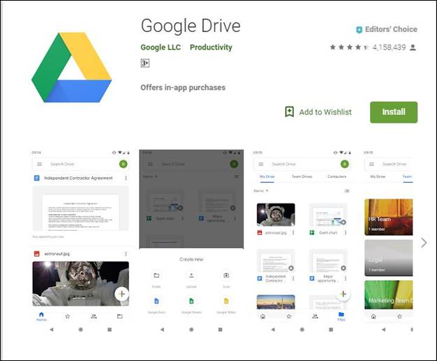 Google Drive-10 Must have Android Apps