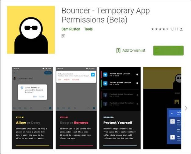 Bouncer-10 Must have Android Apps