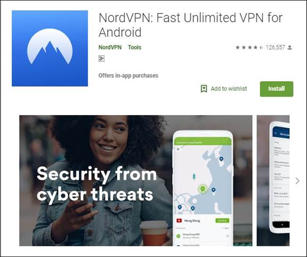 Nord VPN-10 Must have Android Apps