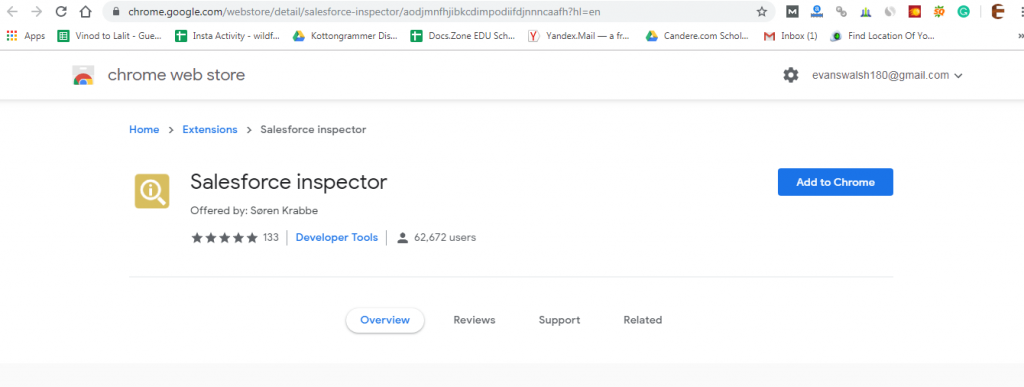 salesforce google chrome extensions-Salesforce Inspector