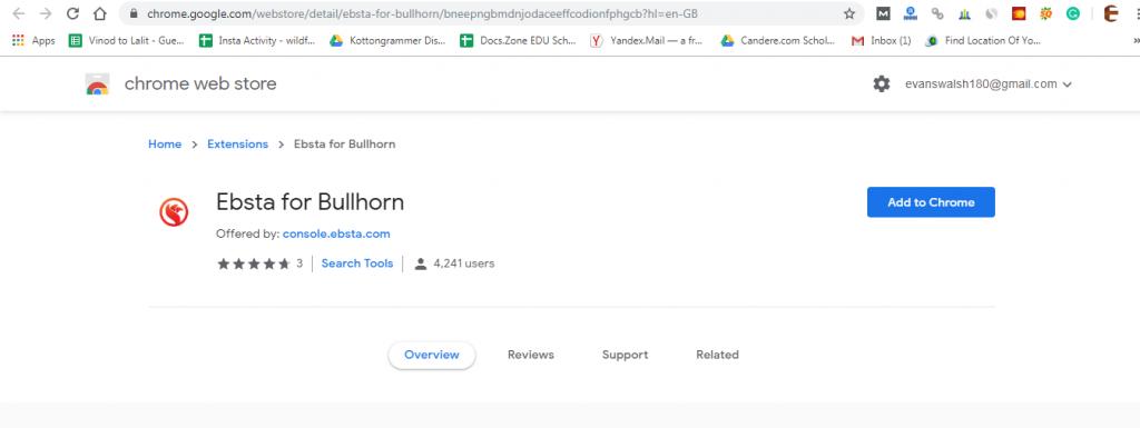 salesforce google chrome extensions-esbsta