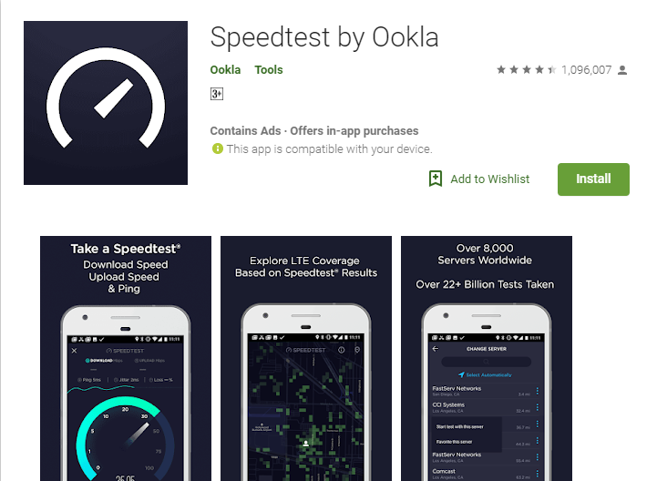 okla Apps to Test your Internet Speed Free Online