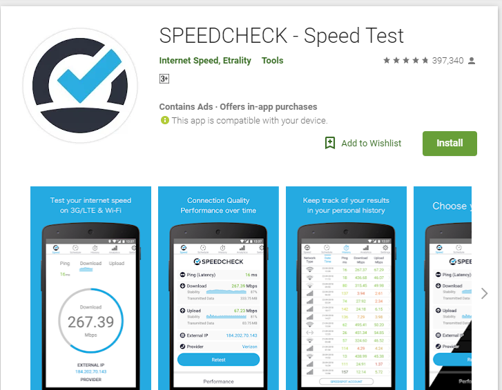 speedcheck-Apps to Test your Internet Speed Free Online