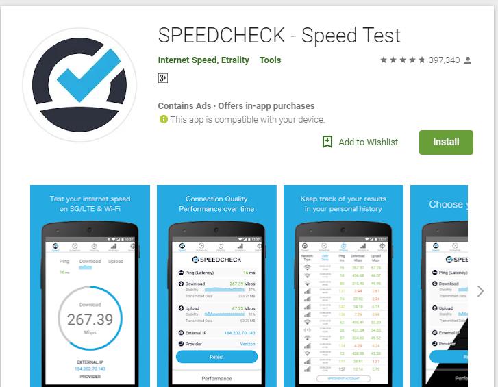 speedcheck-Apps to Test your Internet Speed Free Online