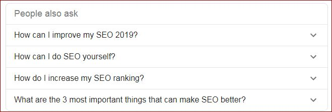 Google Auto Q&A-Free SEO Tools for Keywords Research