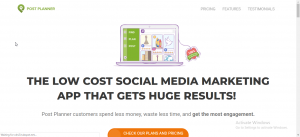 best free facebook marketing tools-PostPlanner