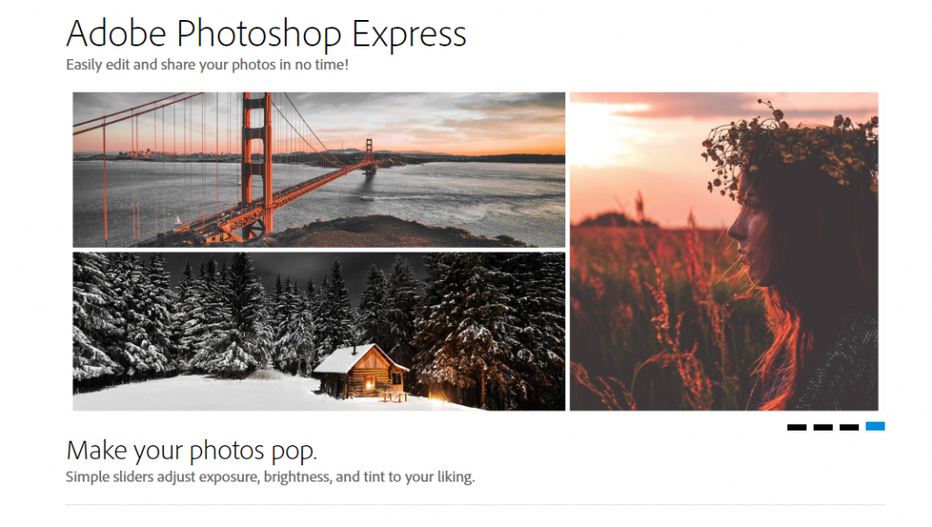 top free social media marketing tools online-Adobe Photoshop Express