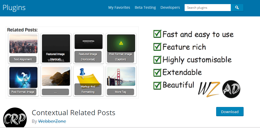 Best WordPress Sidebar Widgets Download-Contextual related posts