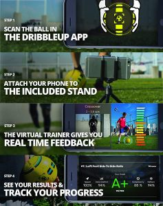 Smart Gadgets That Will Help Your Kids Improve at Sports-Smart soccer ball