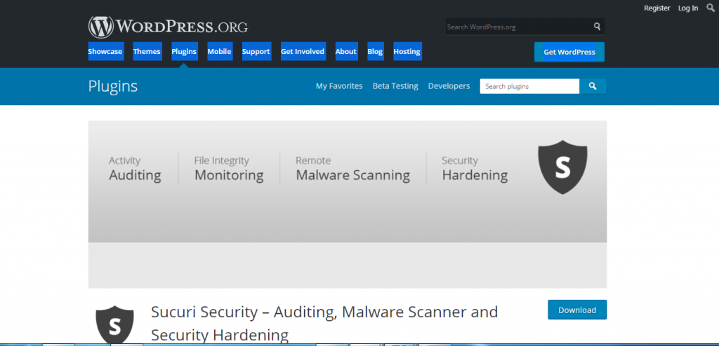 best free security plugins for wordpress-Sucuri Security