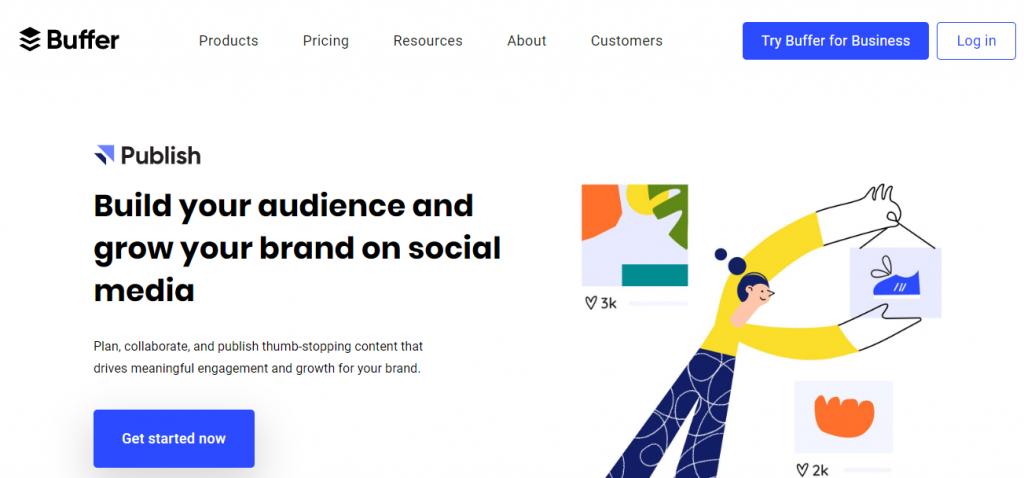 top free social media marketing tools online-Buffer