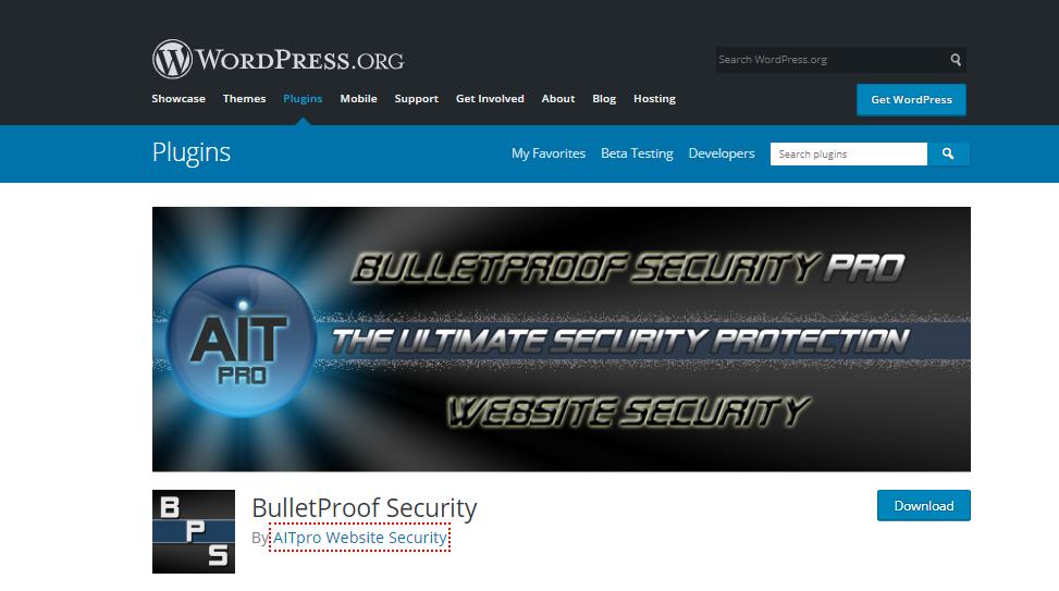 best free security plugins for wordpress-BulletProof Security