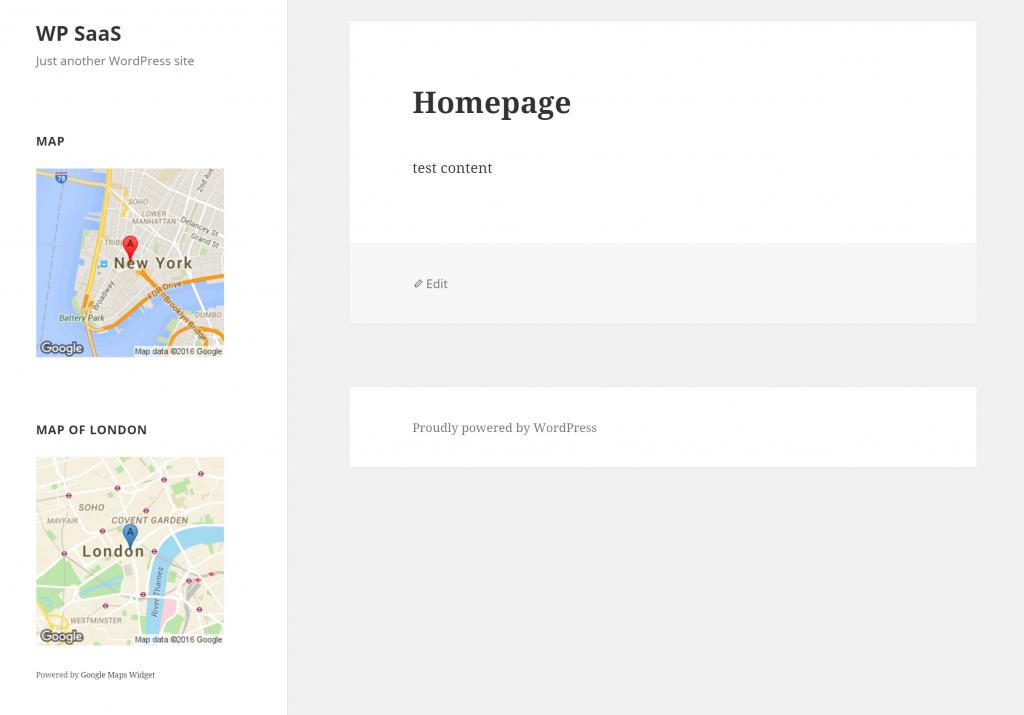 Best WordPress Sidebar Widgets Download-Google maps widget
