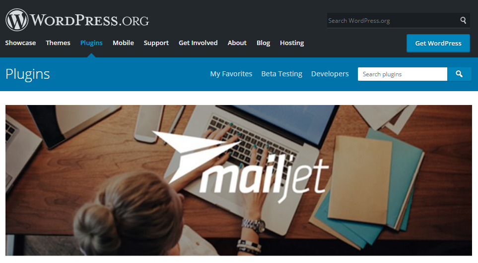 Best Free WordPress Email Newsletter Plugins Free Download-mailjet