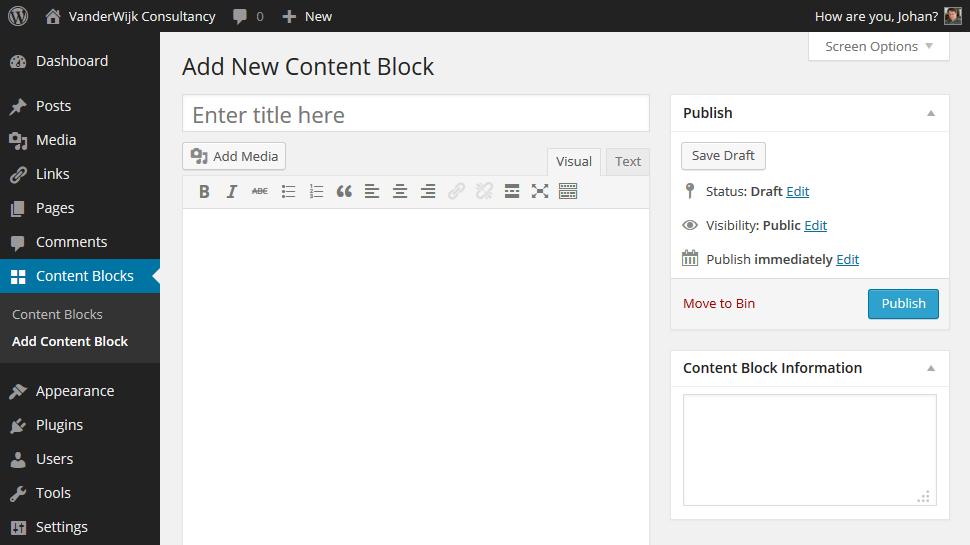 Best WordPress Sidebar Widgets Download-Widget content blocks