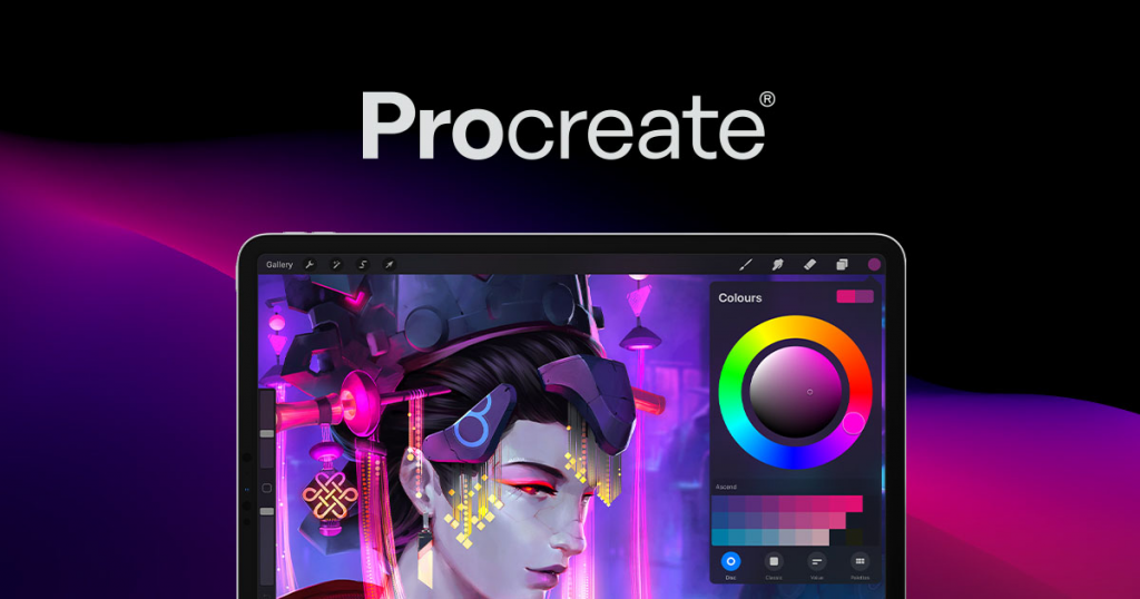 Top Must have Apps for Iphone and Ipad Users-Procreate