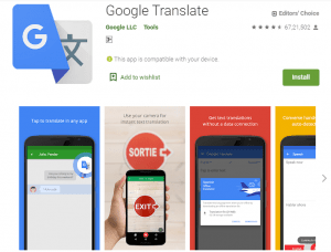 Google Translate-English Learning Apps