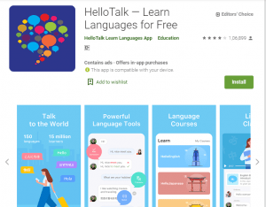 HelloTalk-English Learning Apps