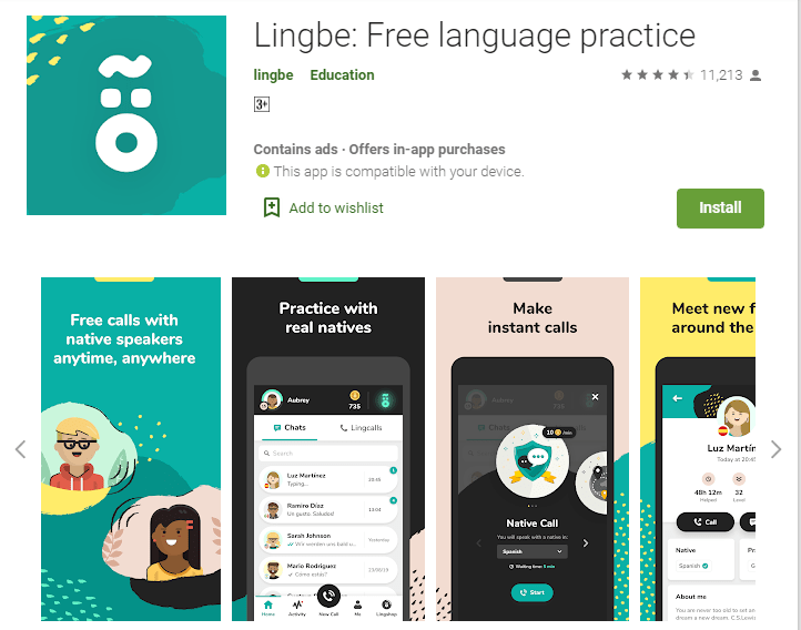 Lingbe-English Learning Apps