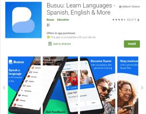 busuu-English Learning Apps