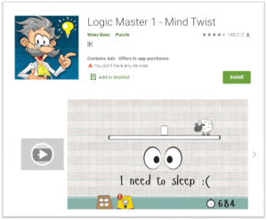 Top Android Gaming Apps for Brainstorming-Logic Master 1 - Mind Twist