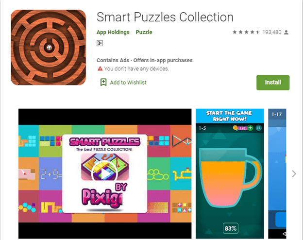 Top Android Gaming Apps for Brainstorming-Smart Puzzles Collection