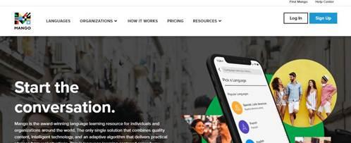 Mango Languages-Online Language Learning Software