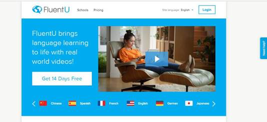 FluentU-Language Immersion Online | Learn a Language with Videos