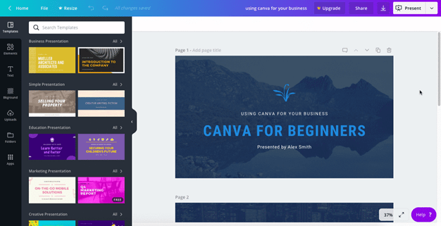 10+ Best Graphic Design Software for Beginners Free Download-Canva