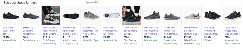 products-Examples of Rich Snippets