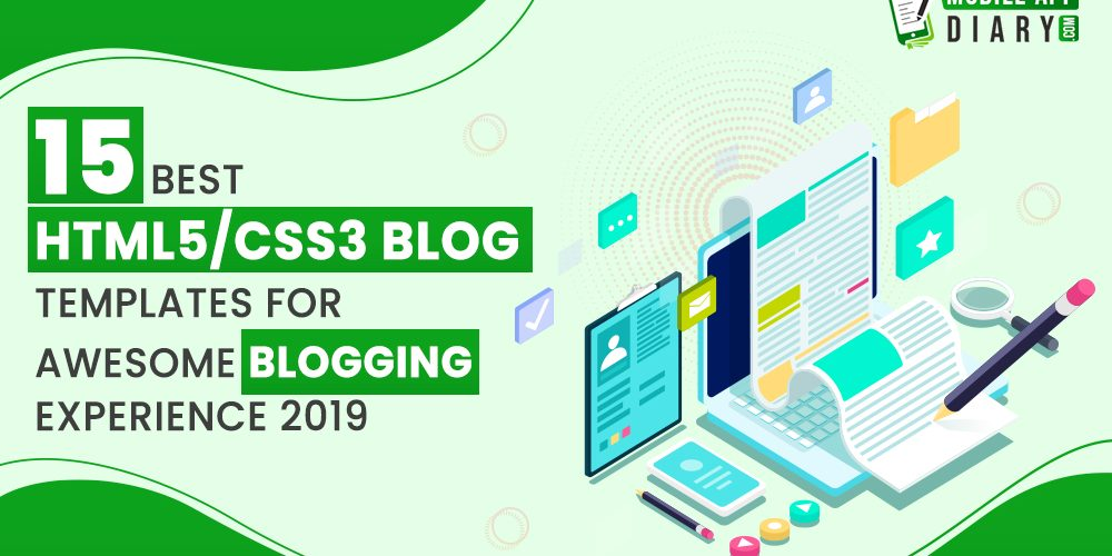 Best HTML/CSS3 Blog Templates for Awesome Blogging